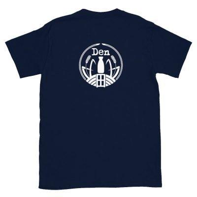 Den Sake T-Shirt Ver 1 Navy-back