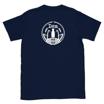 Den Sake T-Shirt Ver 3 Navy-back